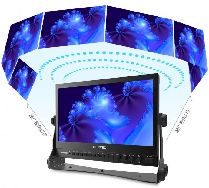 视瑞特P133-9DSW 13.3寸IPS屏全高清1920*1080 双路3G-SDI输入输出 带波形图矢量图直方图专业级摄影摄像导演监视器
