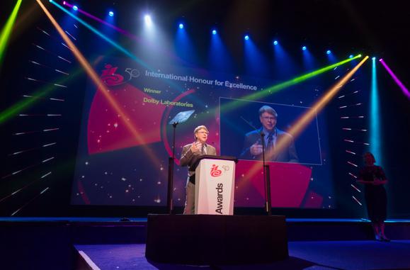 杜比荣获IBC 2017卓越国际荣誉奖