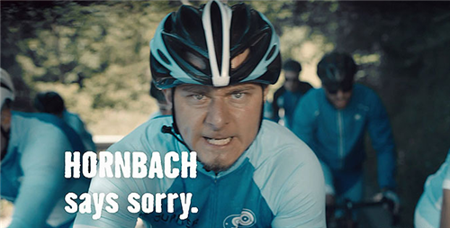 Hornbach家居建材超市幽默广告 对不起打扰你们了
