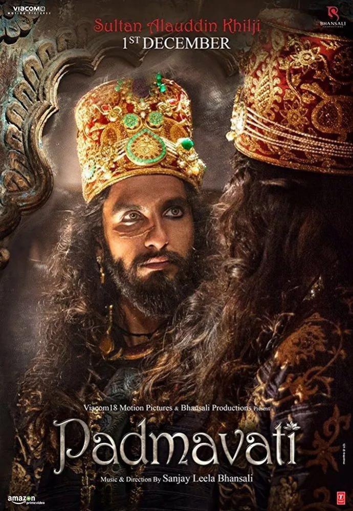 印度史诗级烧钱电影《帕德瓦玛蒂王后》发布首支官方预告,号称女版《巴霍巴利王》