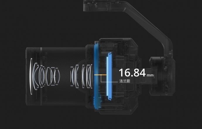 DJI大疆创新发布禅思 Zenmuse X7云台相机