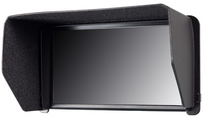 富威德F570 5.7寸铝壳设计4K摄影导演监视器 带HDMI输入输出寸 是配合手持稳定器拍摄的一款摄像监视器