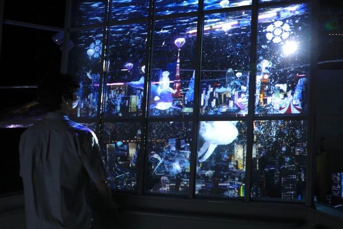 """东京光影秀""""TOKYO ART CITY by NAKED""""采用大量Teranex Mini转换器"""