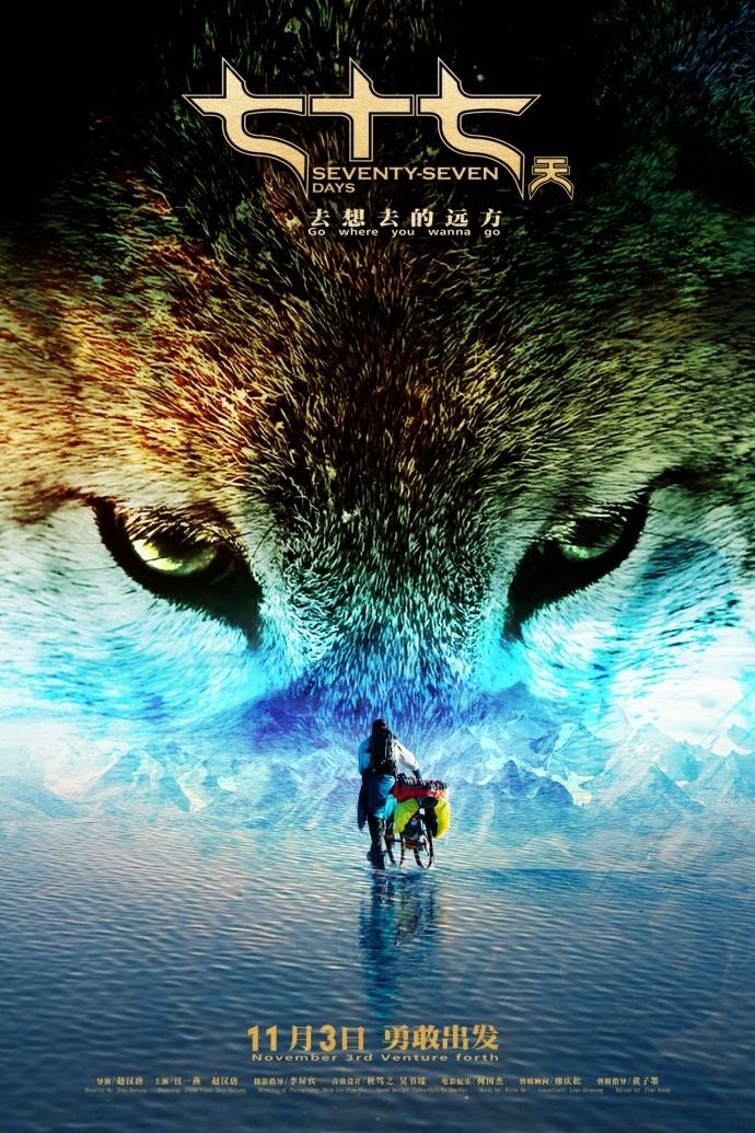 电影《七十七天》发布动物特辑,极地生灵萌翻众人