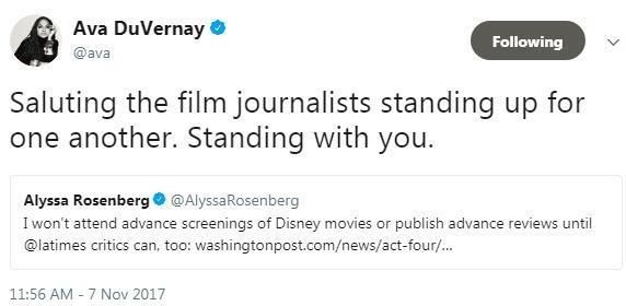 有钱就可以为所欲为吗?迪士尼差点被美国电影媒体集体封杀了!