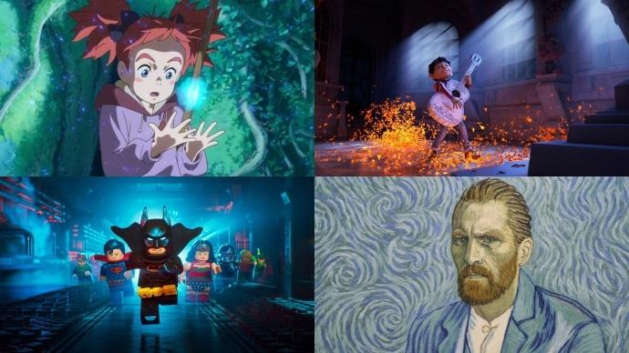 奥斯卡最佳动画长片入围大名单出炉,共二十六部入围