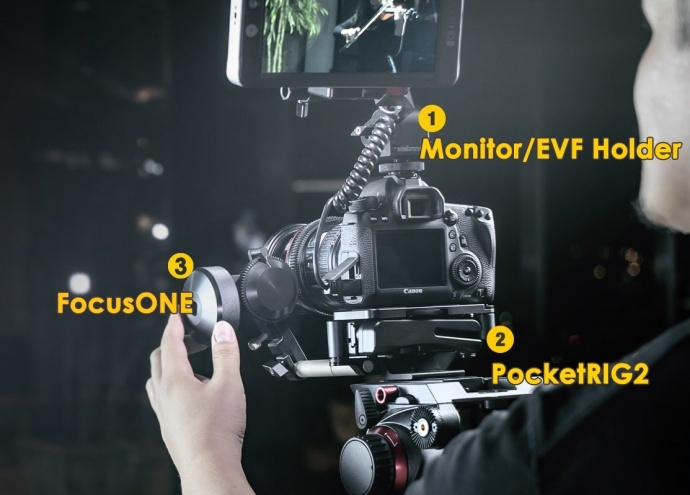 能放进口袋里的完美配件:Monitor/EVF Holder、PocketRIG2、FocusONE