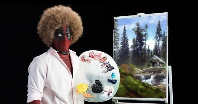 《死侍2》发布首支先导预告:一堂很污的绘画课,一言不合就开车