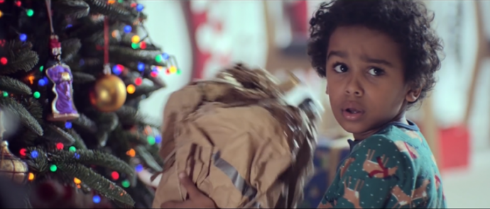 """英国John Lewis百货2017圣诞广告,看看今年的经典!""""怪物""""!"""