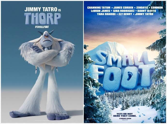 《雪怪大冒险》曝全球首款预告,神秘雪怪欢乐呆萌查宁·塔图姆献声