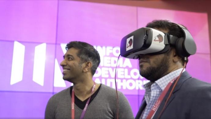 虚拟现实会议将点亮新加坡媒体节