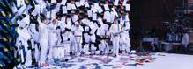 擦擦擦!567台打印机和N张纸,造出OK Go最新3D动画MV