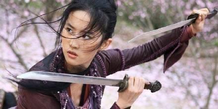 千里挑一!迪士尼的真人版《花木兰》主角确定为刘亦菲!