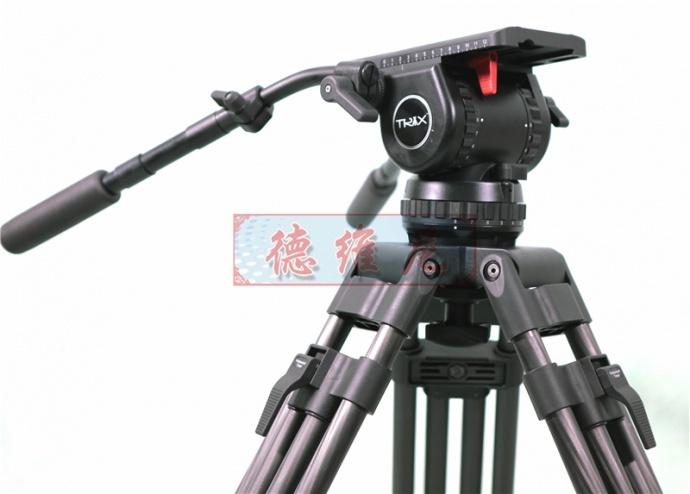 TRIX西班牙经典TX-V20TT专业电影三脚架+液压云台套装承重30kg