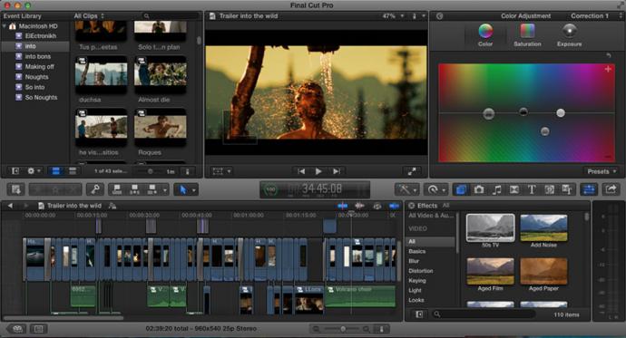 Final Cut Pro X与Premiere Pro CC 你会选择谁?