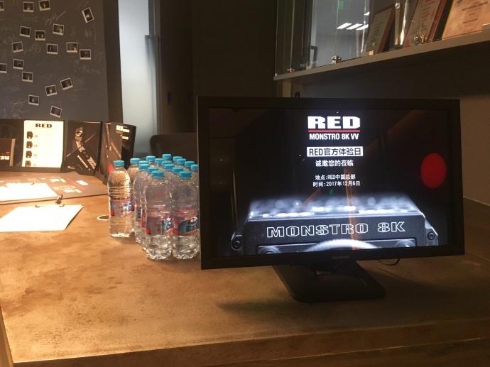 RED MONSTRO 8K VV摄影机官方体验日都有啥?