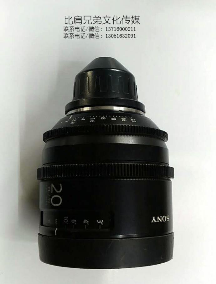 比肩兄弟年底大清仓:低价出二手SONY PK6 定焦电影镜头一套