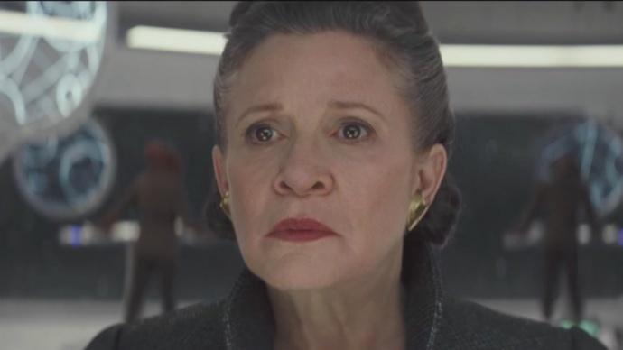 《星战8》卢克·天行者纪念莱娅公主:没有人会真的离开我们