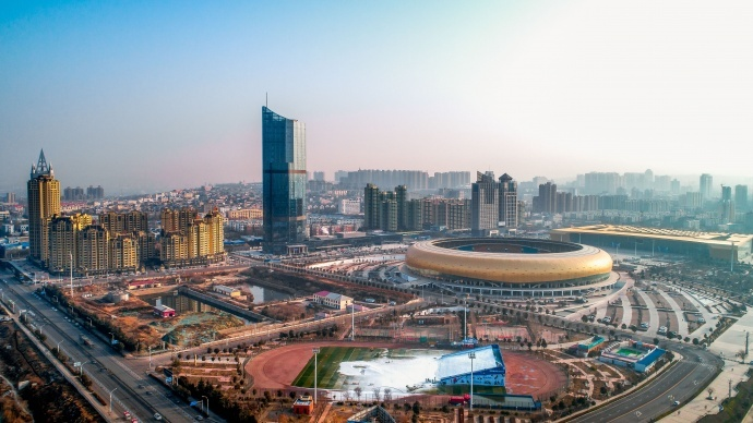 2018河南18地市新年第一天航拍