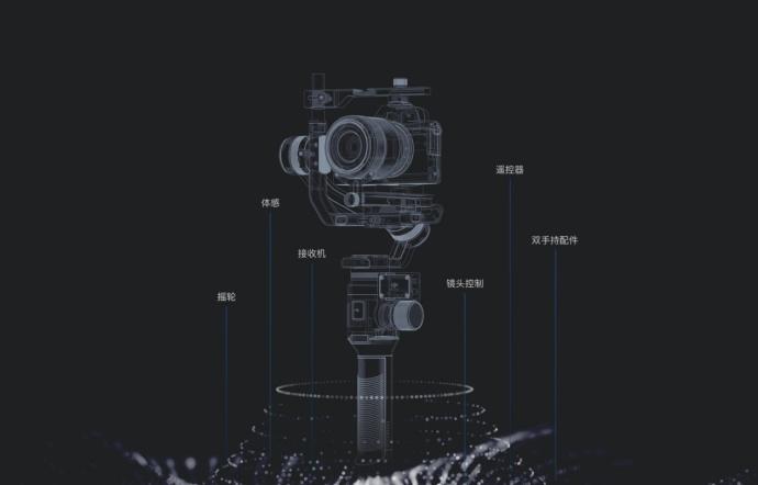 大疆首款可单手操作的相机稳定器如影 Ronin-S亮相CES 2018