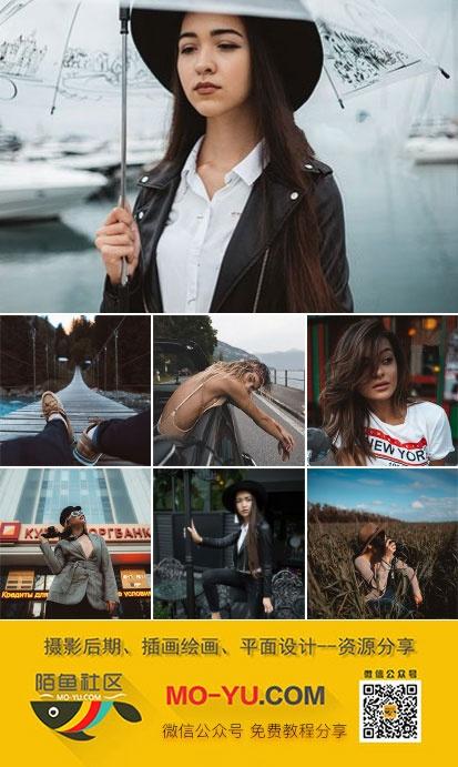 旅行人文摄影人像风格lr预设