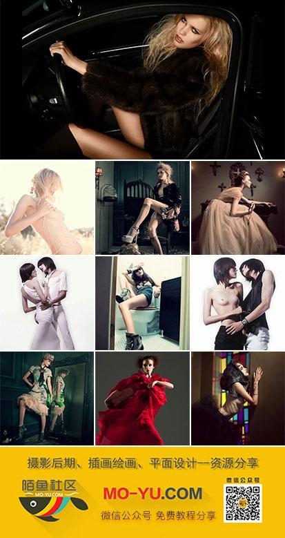 高端商业时装广告摄影视频教程