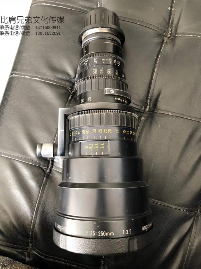 出法国安琴变焦电影镜头Angenieux HR 25-250mm T3.5